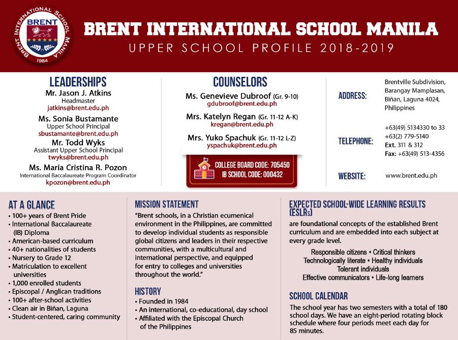 Information For University Representatives | Brent International