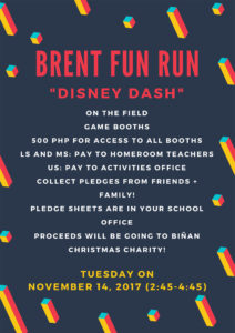 Brent Fun Run – Disney Dash