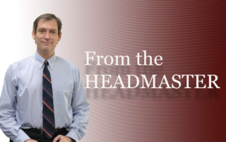 From the Headmaster