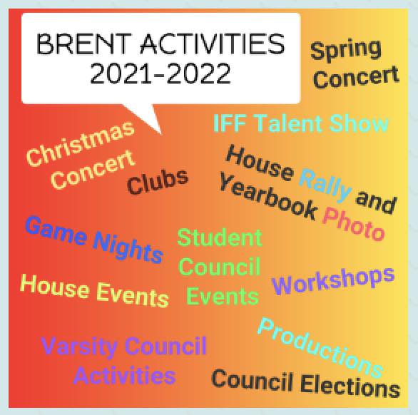 Activities for 2021